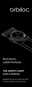 Orbiloc Run Dual User Manual