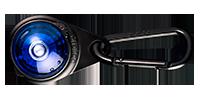 Orbiloc Outdoor Dual - Carabiner Blue