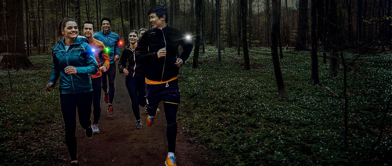 Orbiloc Run Dual Safety Light - Group Run