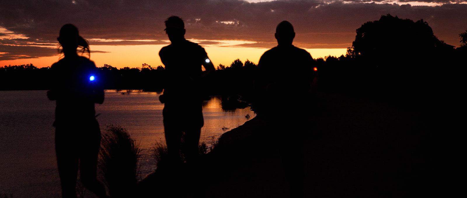 Orbiloc Run Dual Safety Light - Group Run Night