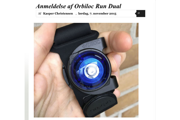 Review of Orbiloc Run Dual
